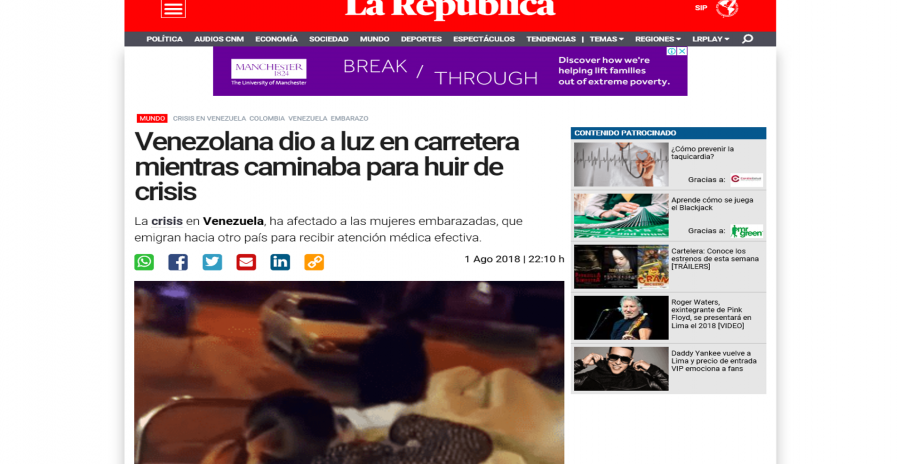 LA REPUBLICA PERÚ